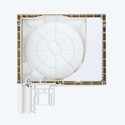 skrzynka cb (rewizja od dołu, styropian)