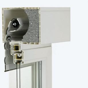 skrzynka 205 x 255mm (rewizja od dołu, izolacja neopor, moskitiera)