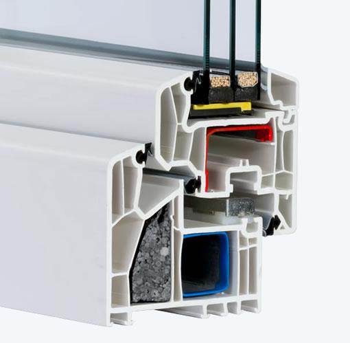 pvc fenster veka alphaline wfo post p sp z o o. Black Bedroom Furniture Sets. Home Design Ideas