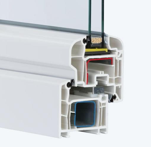 fen tres en pvc veka softline 70 oval wfo post p sp z o o. Black Bedroom Furniture Sets. Home Design Ideas