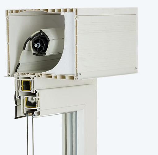 skrzynka 205 x 255mm (rewizja od dołu, izolacja styropian, listwy tynkowe)